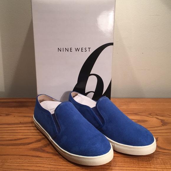 Nine West My Bff Royal Blue Slip On